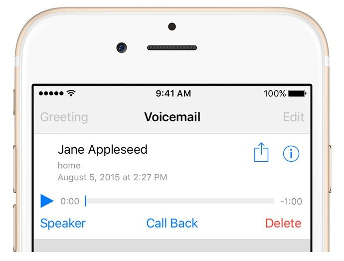 Visual voicemail for iphone explained support telus protect your privacy and security m4hsunfo
