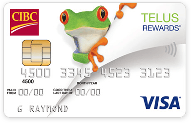 What rewards does the CIBC Visa offer?
